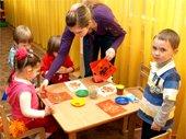 Занятия в в центре раннего развития ребёнка Теремок