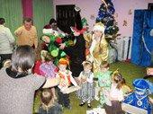 групповое детское празднование Нового года