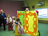 празднования Нового года в детском обучающем центре TEREMOK-UNION