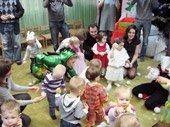 новогоднее представление в детском центре TEREMOK-UNION