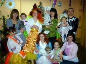 празднования Нового года среди детей