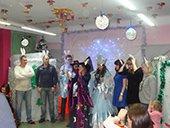 Празднование Нового года 2016 в Теремок