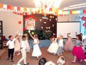 праздничный вечер в детском центре TEREMOK-UNION