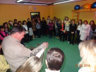 Семинар по обмену опытом между преподавателями и руководителями детских центров Украины