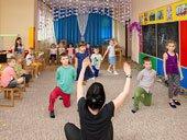 уроки акробатики в детском обучающем центре TEREMOK-UNION
