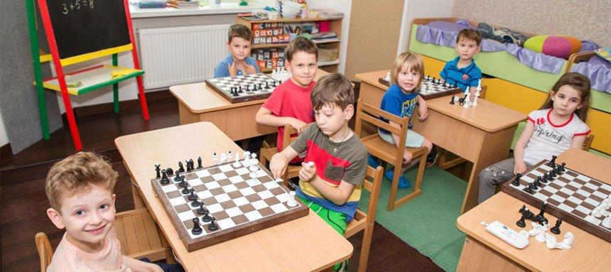 Шахматы для детей от 4 лет
