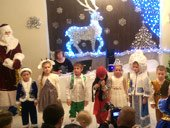 празднование Нового года в детском обучающем центре TEREMOK-UNION