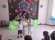 Выпускной вечер в детском обучающем центре TEREMOK-UNION