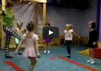 Акробатика для детей от 3-х лет