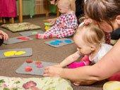 Занятия для малышей в детском центре TEREMOK-UNION