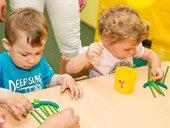занятие для малышей в саде полного дня TEREMOK-UNION