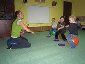 курсы акробатики для детей 2-4 года